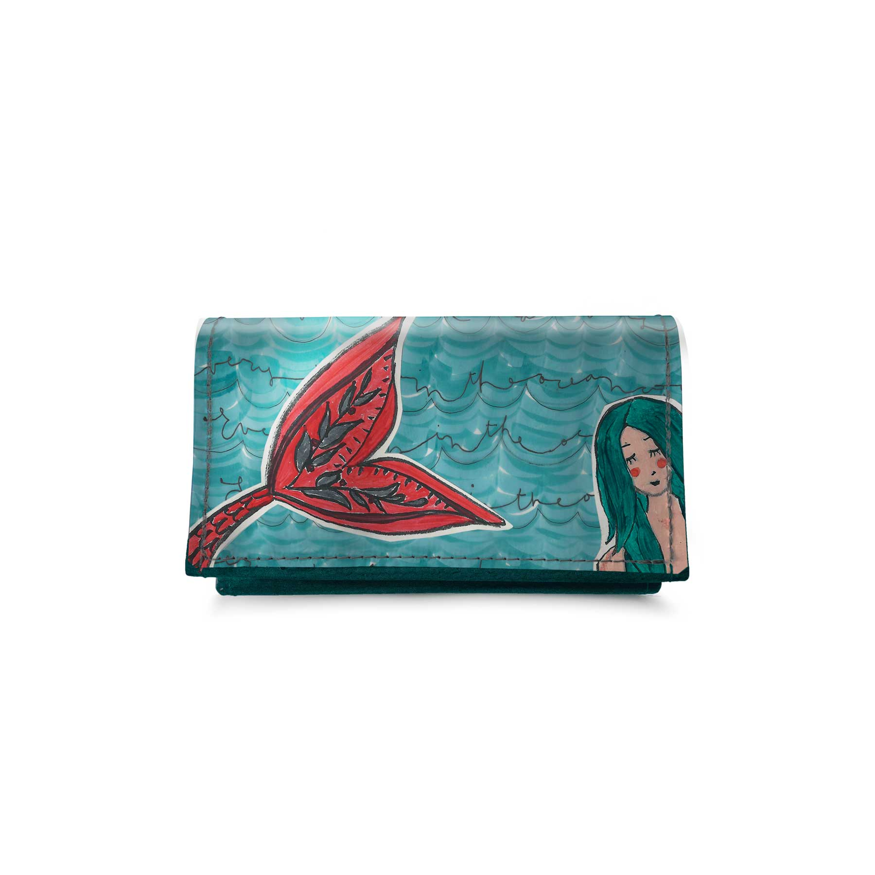 Portafoglio Patellato piccolo Sirena
